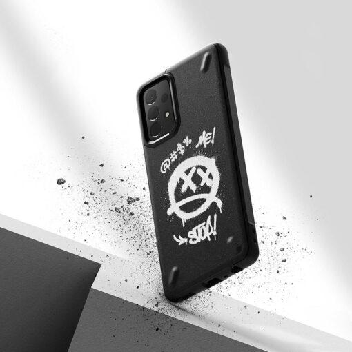 Samsung A72 Galaxy umbris Ringke Graffiti OXSG0048 silikoonist 5