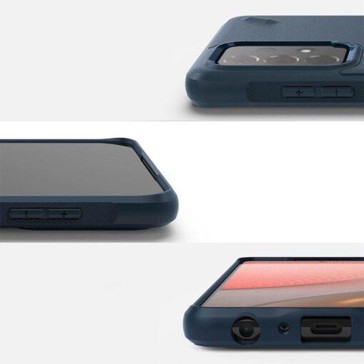 Samsung A72 Galaxy umbris Ringke OXSG0037 silikoonist must 1