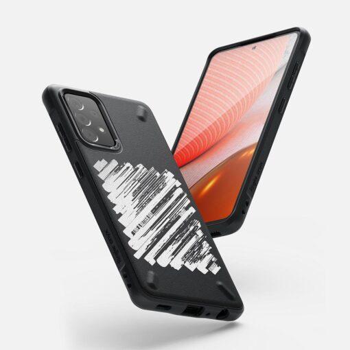 Samsung A72 Galaxy umbris Ringke Onyx X OXSG0049 silikoonist 4