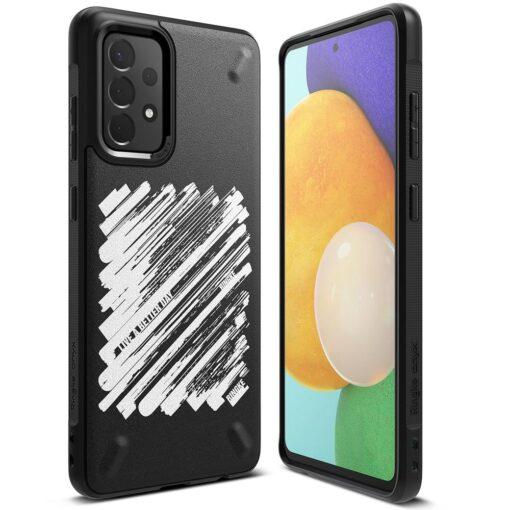 Samsung A72 Galaxy umbris Ringke Paint OXSG0047 silikoonist
