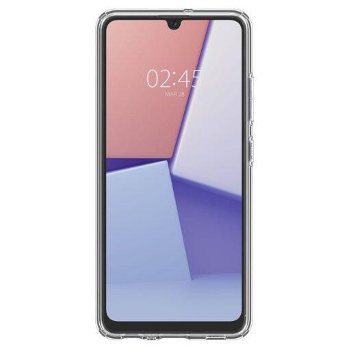 Samsung A72 Galaxy umbris Spigen Crystal Clear labipaistev 3