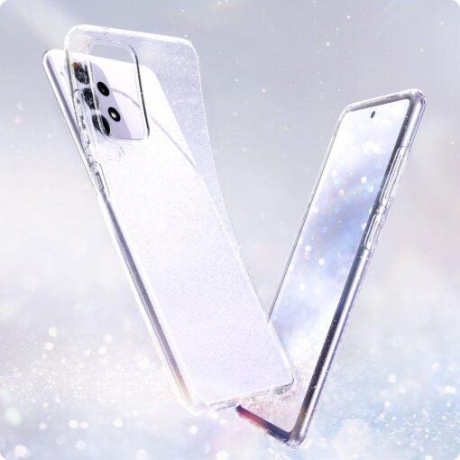 Samsung A72 Galaxy umbris Spigen Liquid Crystal Glitter Crystal 1
