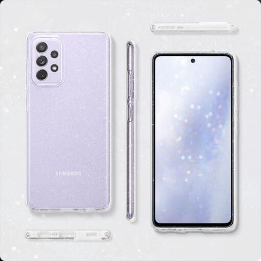 Samsung A72 Galaxy umbris Spigen Liquid Crystal Glitter Crystal 6