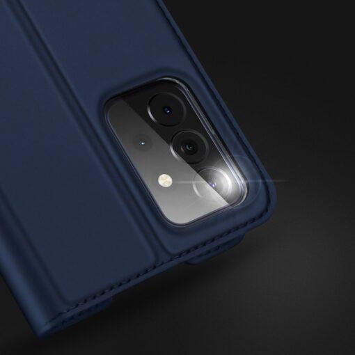 Samsung A72 kunstnahast kaaned kaarditaskuga DUX DUCIS Skin Pro must 11