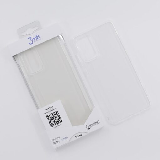 Samsung A72 umbris silikoonist labipaistev 3mk Clearcase 1 min