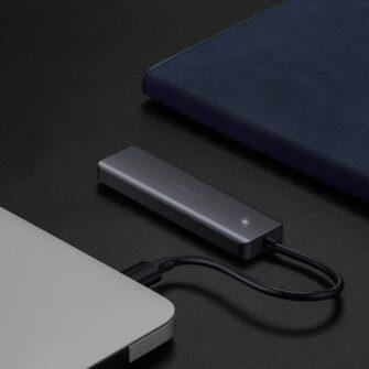 Ugreen USB C Hub jagaja 4x 3.2 USB power port CM219 70336 13