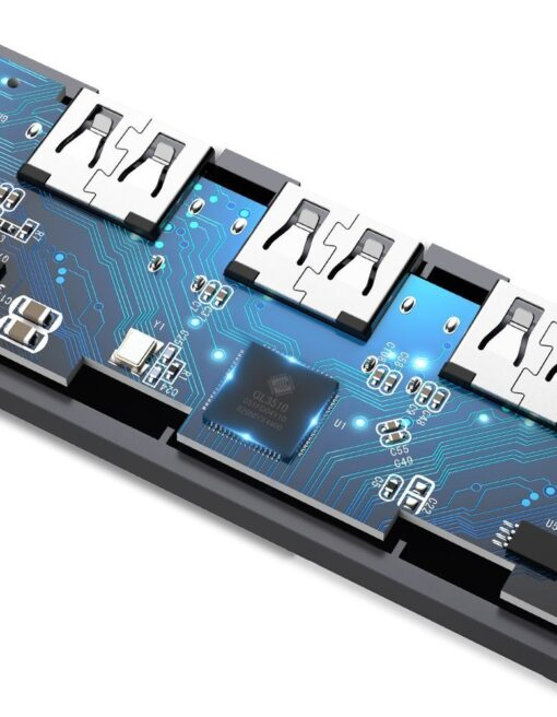 Ugreen USB C Hub jagaja 4x 3.2 USB power port CM219 70336 14