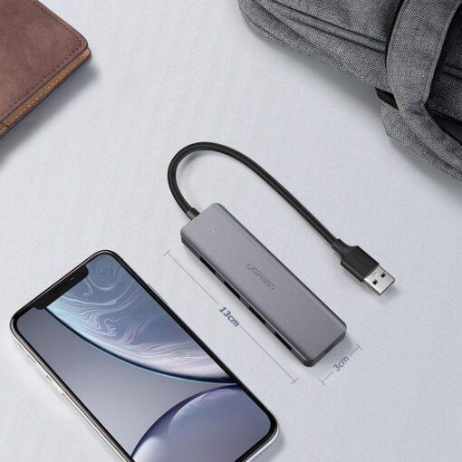 Ugreen USB C Hub jagaja 4x 3.2 USB power port CM219 70336 19