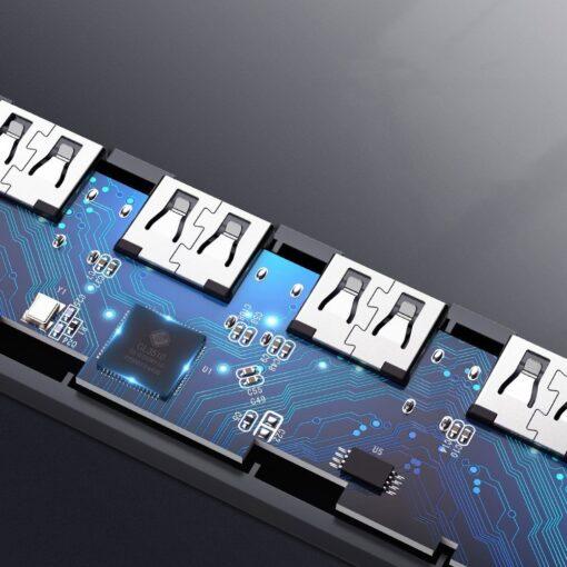 Ugreen USB C Hub jagaja 4x 3.2 USB power port CM219 70336 3