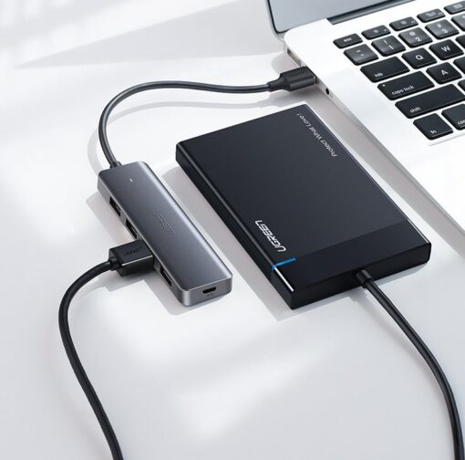 Ugreen USB C Hub jagaja 4x 3.2 USB power port CM219 70336 6