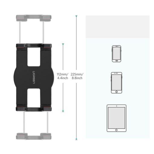 Ugreen universaalne telefoni ja tahvelarvuti hoidik pika kapaga 19