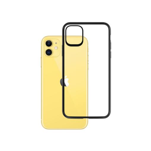 iPhone 11 umbris musta servaga matt satin