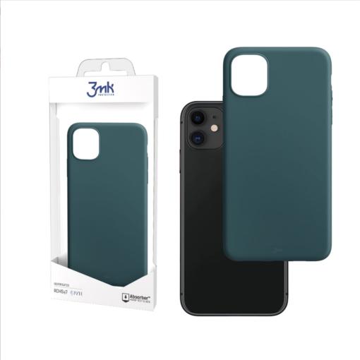 iPhone 11 umbris silikoonist matt roheline