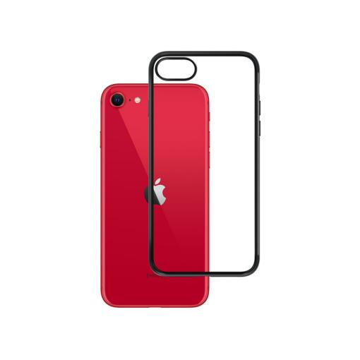 iPhone SE2020 umbris musta servaga matt satin