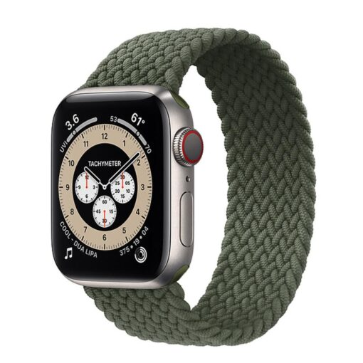 Apple Watch rihm nailon riidest roheline