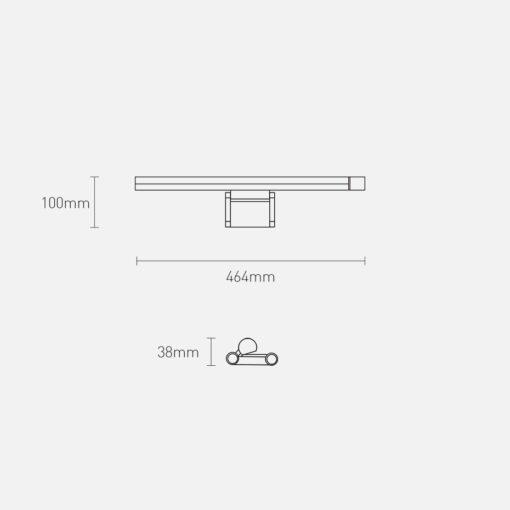 Lamp monitorile USB ga dimmerdatav soe ja kulm valgus DGIWK P01 18