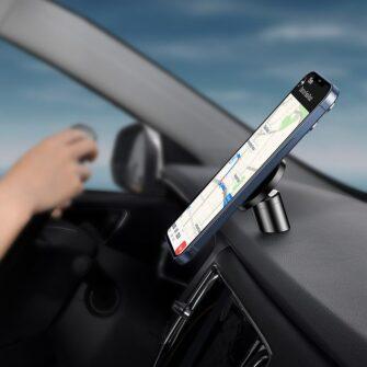 Magsafe telefonihoidik autosse must SULD 01 15
