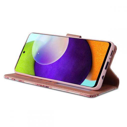 Samsung A52 4G ja 5G kaaned kaarditaskuga lilledega 5
