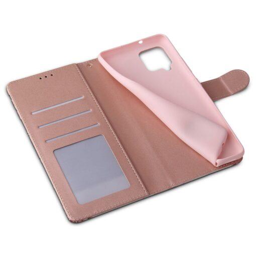 Samsung A52 4G ja 5G kaaned kaarditaskuga lilledega 6