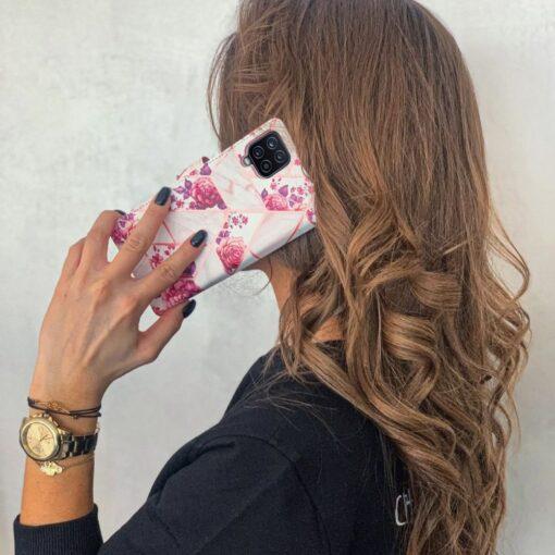 Samsung A52 4G ja 5G kaaned kaarditaskuga lilledega 7