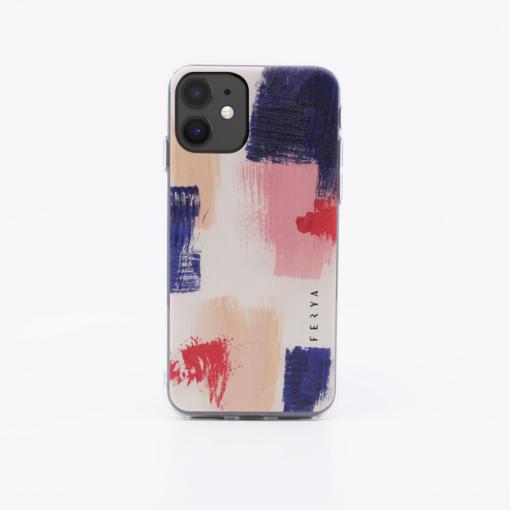 iPhone 11 umbris silikoonist Ferya Slim DESERT