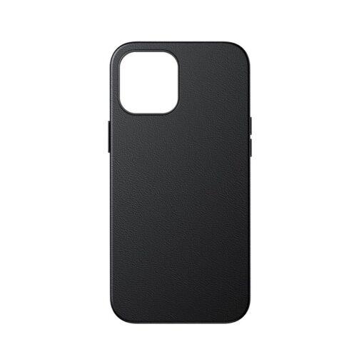 iPhone 12 Pro Max Baseus kunstnahast umbris Magsafe 1
