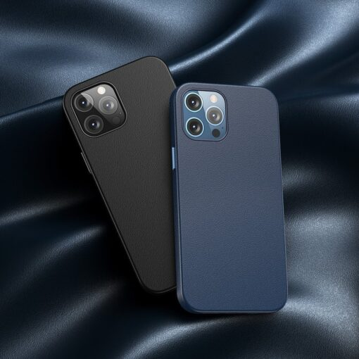 iPhone 12 Pro Max Baseus kunstnahast umbris Magsafe 10