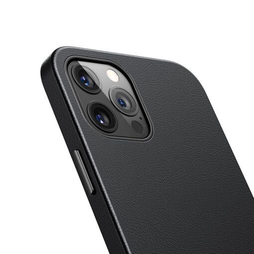 iPhone 12 Pro Max Baseus kunstnahast umbris Magsafe 7