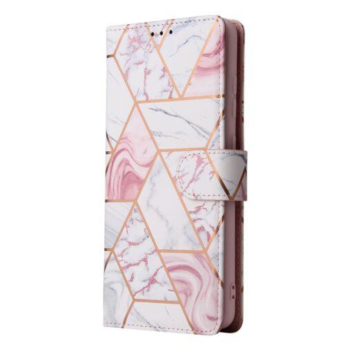 iPhone 12 Pro kaaned kaarditaskuga roosa marble 8