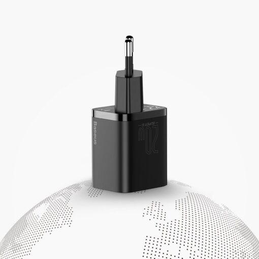 iPhone 12 laadija koos seinadapteriga Baseus Super SI 1 6