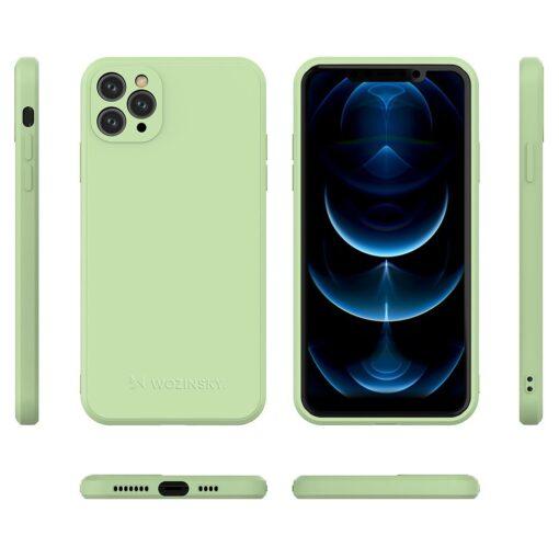 iPhone 11 Pro Max pehmest silikoonist umbris kollane 1