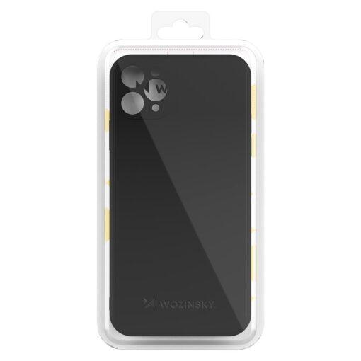 iPhone 11 Pro Max pehmest silikoonist umbris kollane 2