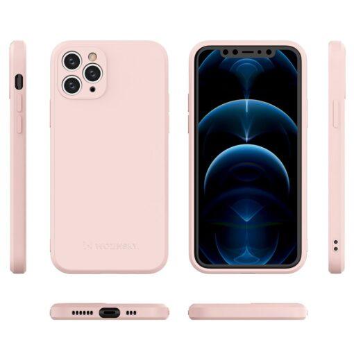 iPhone 11 Pro pehmest silikoonist umbris roosa 1