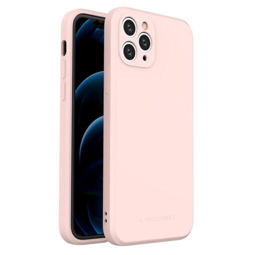 iPhone 11 Pro pehmest silikoonist umbris roosa