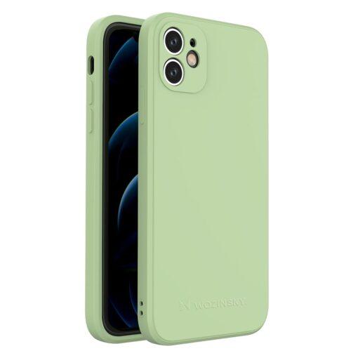 iPhone 11 pehmest silikoonist umbris roheline