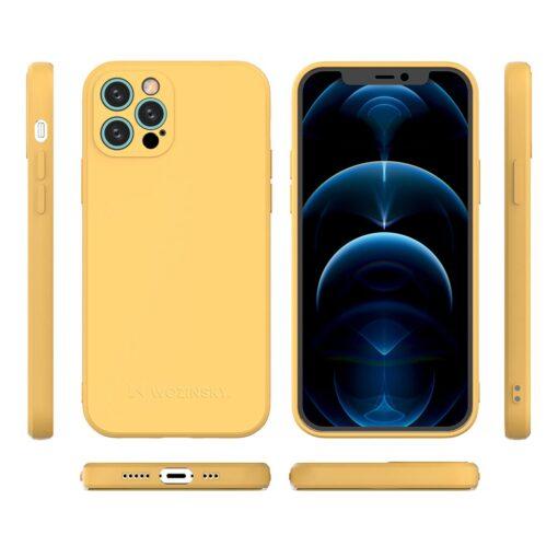 iPhone 12 Pro Max pehmest silikoonist umbris must 1