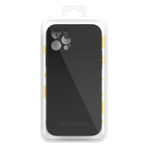 iPhone 12 Pro Max pehmest silikoonist umbris must 2