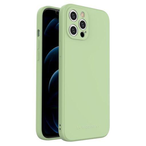 iPhone 12 Pro Max pehmest silikoonist umbris roheline