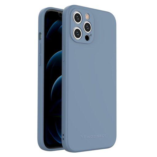 iPhone 12 Pro Max pehmest silikoonist umbris sinine