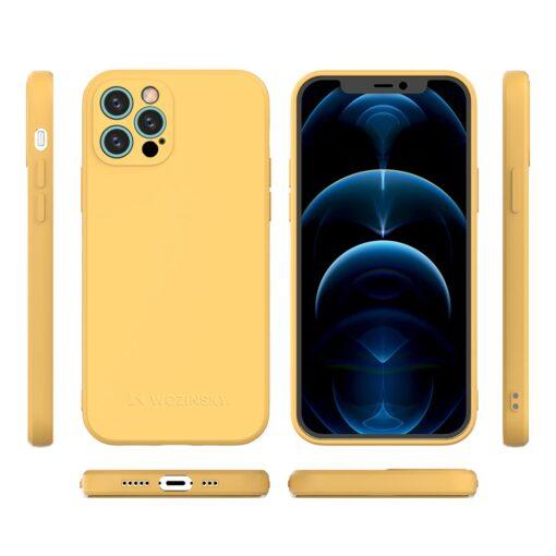 iPhone 12 Pro pehmest silikoonist umbris must 1