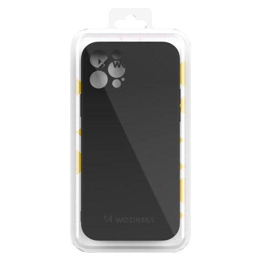 iPhone 12 Pro pehmest silikoonist umbris must 2