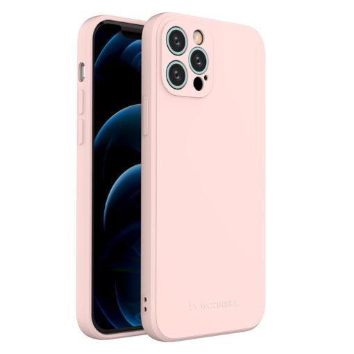 iPhone 12 Pro pehmest silikoonist umbris roosa