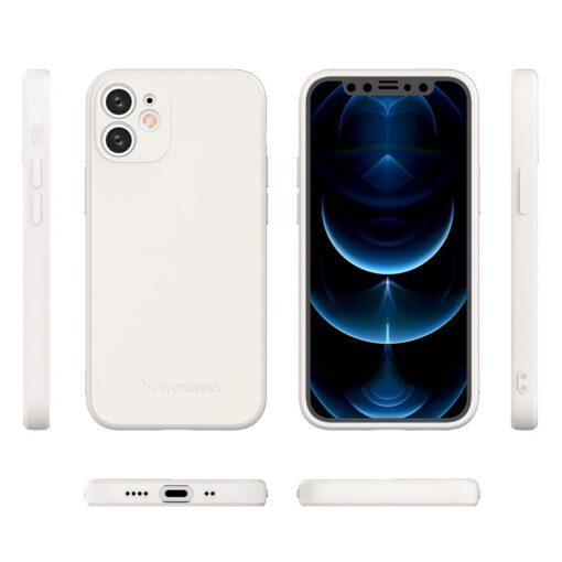iPhone 12 mini pehmest silikoonist umbris must 1