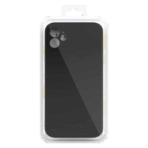 iPhone 12 mini pehmest silikoonist umbris must 2
