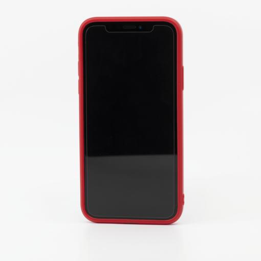punanet silikoonist umbris iPhone XS iPhone X eest