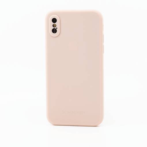 roosa silikoonist umbris iPhone XS iPhone X