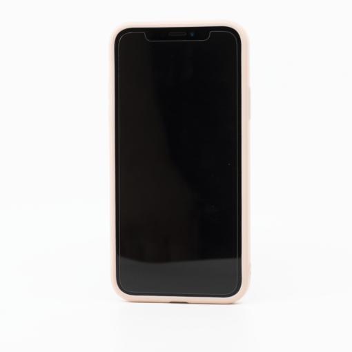 roosa silikoonist umbris iPhone XS iPhone X eest