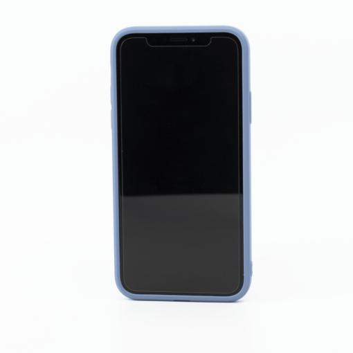 sinine silikoonist umbris iPhone XS iPhone X eest