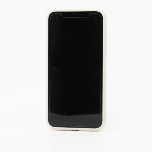 valge silikoonist umbris iPhone XS iPhone X eest