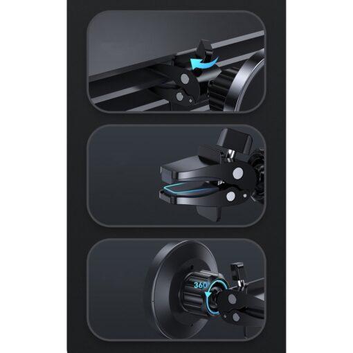 iPhone juhtmevaba laadija ja telefonihoidik autosse 2